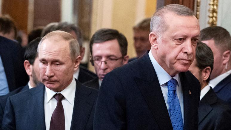 Der Tagesspiegel: альянс против Запада — несмотря ни на что Путин и Эрдоган всегда «встречаются на полпути»