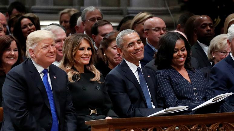 Independent: супруги Обама снимут комедийный сериал о невзгодах администрации Трампа