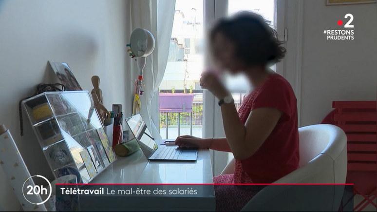 France 2: больше половины французов испытывают психологический стресс на удалёнке — ИноТВ