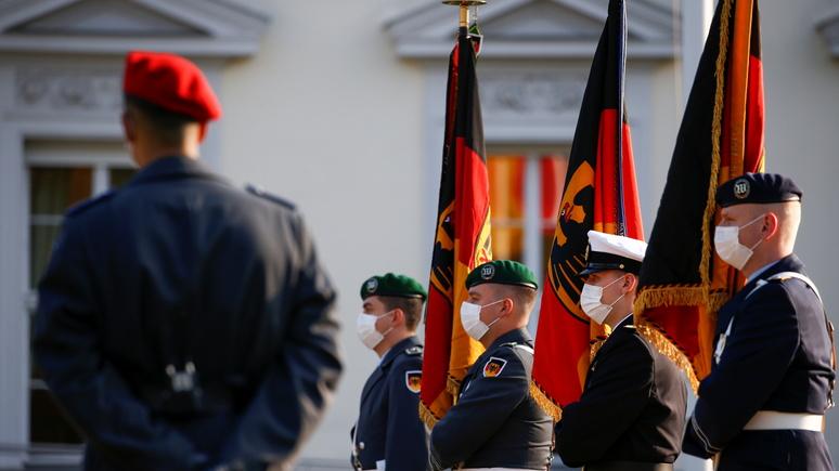FAZ: 26 военных бундесвера обвиняются в правом экстремизме