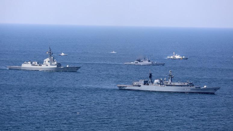 Корреспондент: Украина хочет проводить больше учений с НАТО в Чёрном море