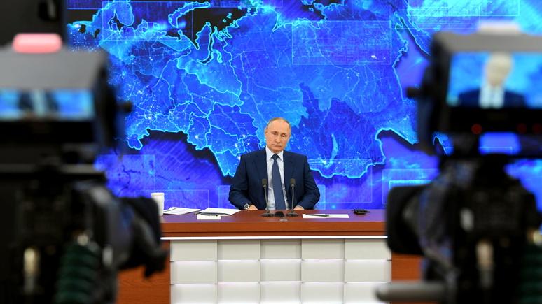 Путин остаётся Путиным: мировые СМИ о пресс-конференции российского президента