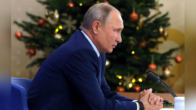 Forbes: в новом году Путину придётся решить 6 важных проблем