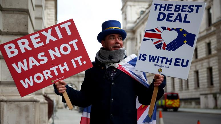 Победа дорогой ценой: The Independent о сделке Великобритании по брекситу