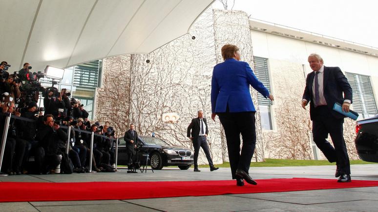 Меркель о сделке по брекситу: историческое соглашение откроет новую главу в отношениях с Великобританией