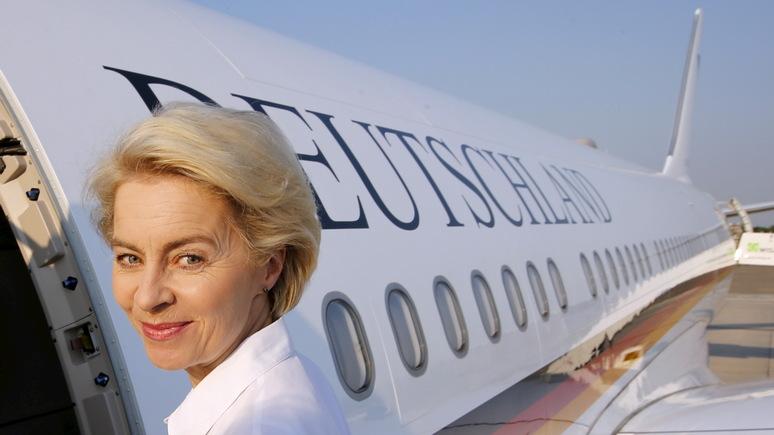 Daily Mail: «типичное лицемерие элиты ЕС» — фон дер Ляйен раскритиковали за пристрастие к воздушному такси