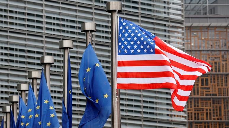 ARD: США введут штрафные пошлины на детали самолётов и алкоголь из Франции и Германии