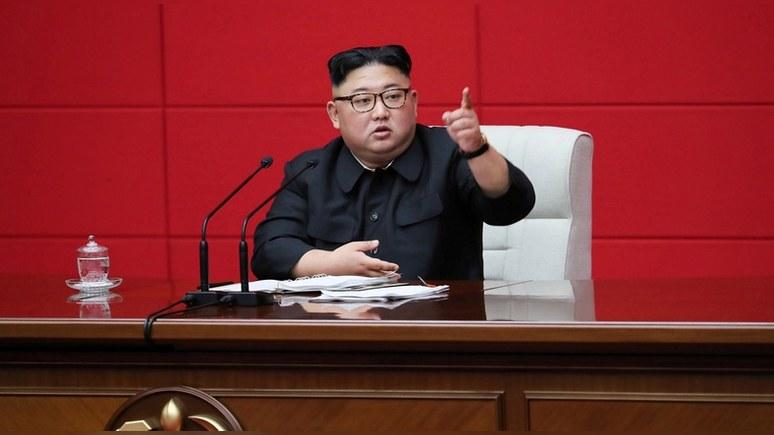 Times: Ким Чен Ын назвал США главным врагом Северной Кореи
