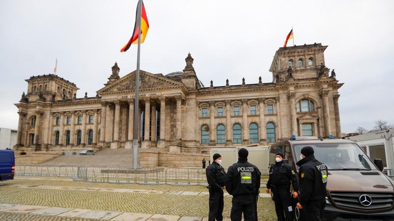 ARD: «из злых мыслей — злые поступки» — после штурма конгресса полиция усиливает охрану Бундестага