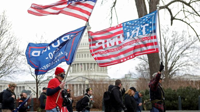 CNN: «они осмелели» — по итогам штурма Капитолия возбудили 25 дел о внутреннем терроризме