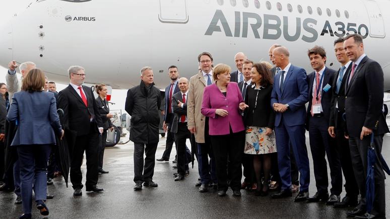 N-TV: Меркель придётся спать в кресле, зато без аварий — Германия получила новый борт номер один