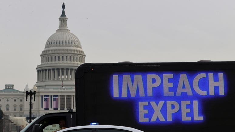 CNN: символический укор Пенсу — конгрессмены приняли резолюцию об отстранении Трампа от власти