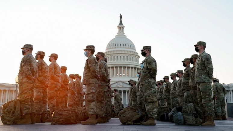 New York Times: в Пентагоне решили вооружить бойцов Нацгвардии ради безопасной инаугурации Байдена