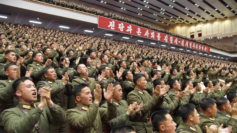 Die Welt: агрессивная риторика Байдена в адрес КНДР выгодна Ким Чен Ыну