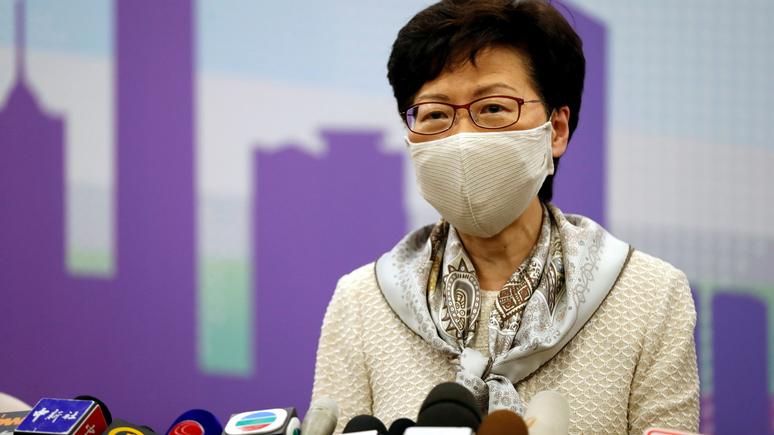 SCMP: демократические протесты или восстание — глава Гонконга обвинила Запад в двойных стандартах
