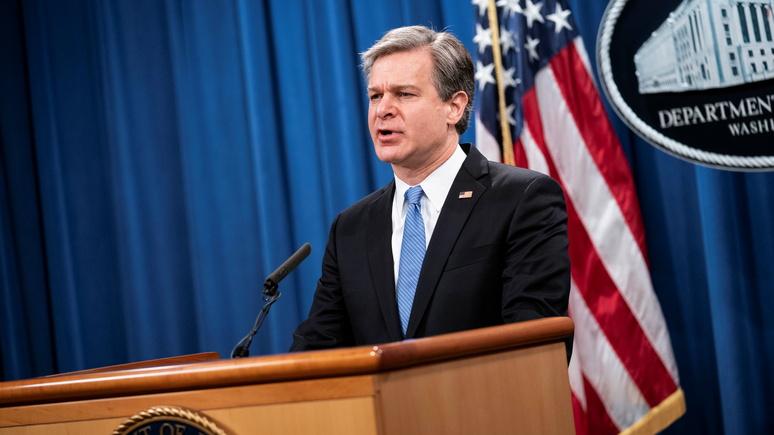 Hill: глава ФБР признался, что его беспокоит «болтовня в интернете» о вооружённых протестах