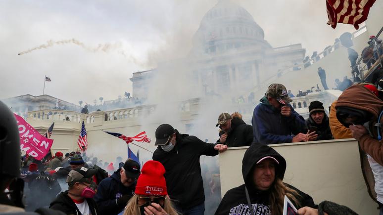 Washington Post: ультраправые планируют сорвать инаугурацию Байдена