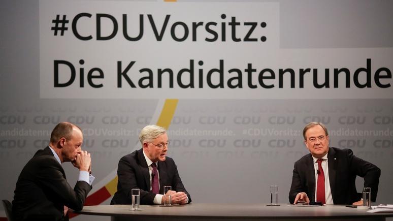 Welt: немцы не считают пригодным ни одного кандидата в канцлеры от партии Меркель