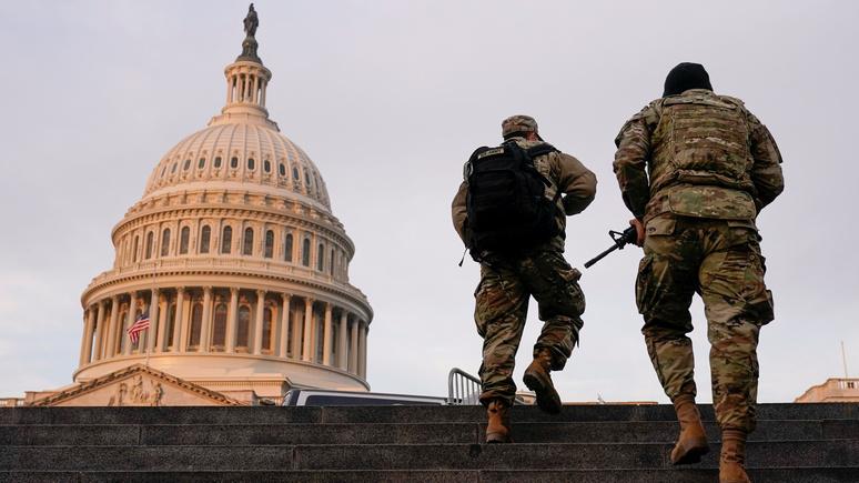 Hill: Пентагон перебросит на инаугурацию Байдена 25 тысяч нацгвардейцев