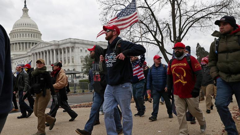 NBC: ФБР заподозрило иностранные государства в финансировании штурма Капитолия
