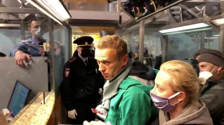 Das Erste: политики США и Европы осудили задержание Навального