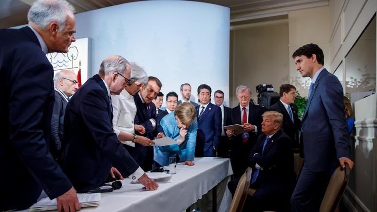 La Presse: ещё в 2018 году на саммите G7 Трампу не хватало Путина