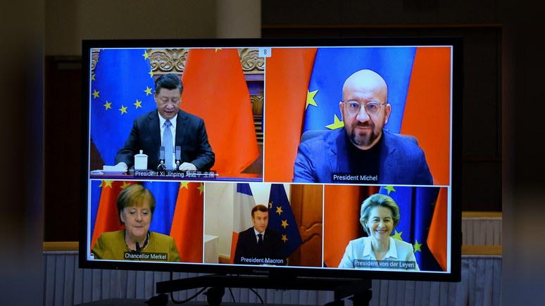 SCMP: европейцы полагают, что в течение 10 лет Китай станет могущественнее США
