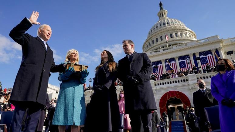USA TODAY: «Демократия восторжествовала» — Байден обратился к нации после инаугурации
