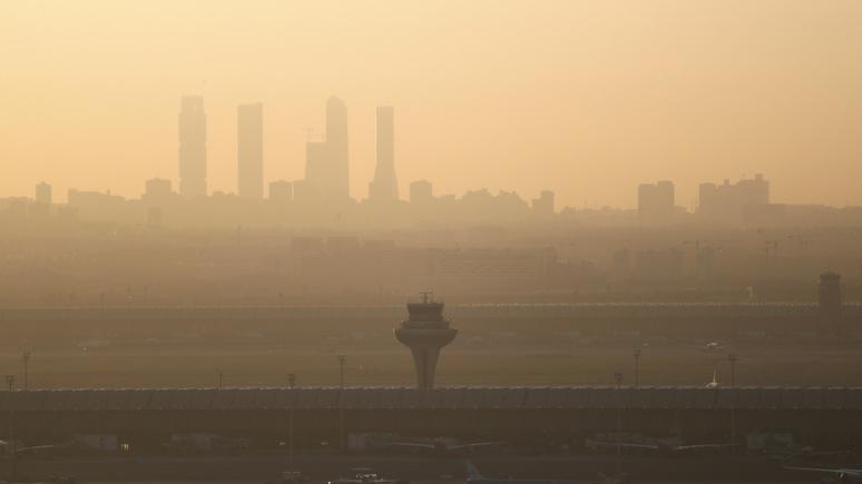 Times: жители Мадрида чаще других европейцев умирают от грязного воздуха