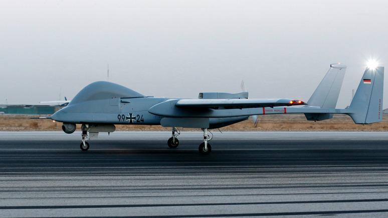 FAZ: в минобороны ФРГ указали на необходимость боевых дронов для бундесвера