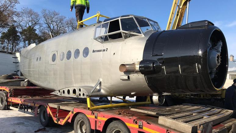 Bild: немец решил сделать из русского самолёта Ан-2 мини-отель