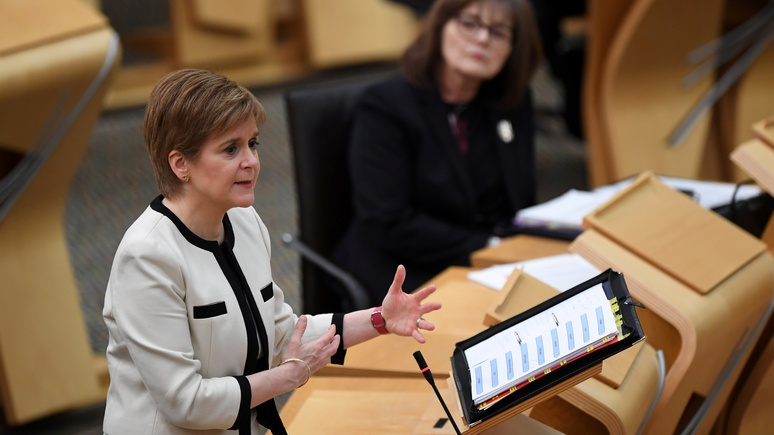 Guardian: лидер Шотландии пообещала провести референдум о независимости