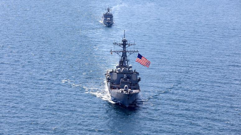Times: предупредили Россию — США отправили военные корабли в Чёрное море