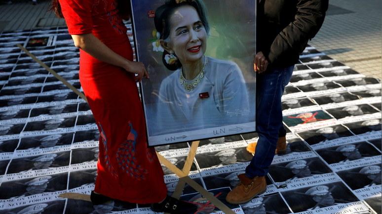 FAZ: санкции Вашингтона могут толкнуть Мьянму в объятия Китая