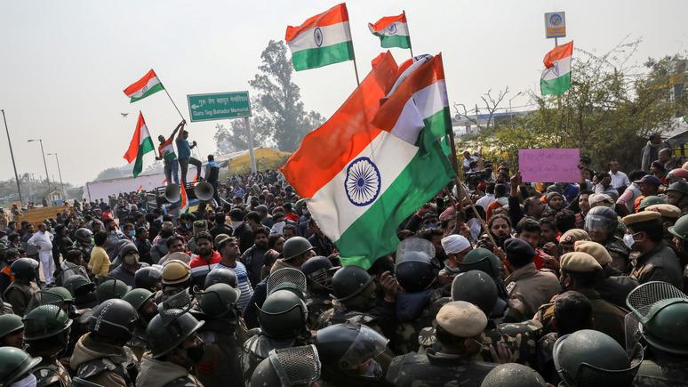 Breitbart: в Индии завели дело на Грету Тунберг за подстрекательство к протестам