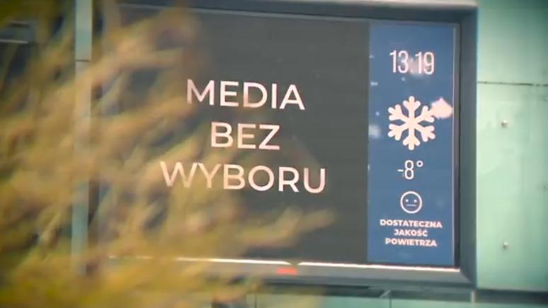 Onet: «тихий протест» польских СМИ против налога — чёрные экраны и мониторы по всей стране
