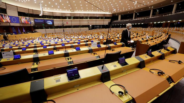 СТРАНА: Европарламент призвал Украину закрыть «Миротворец» и уважать права нацменьшинств