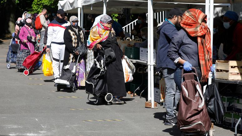 Le Figaro: коронавирусный кризис удвоил число получателей продовольственной помощи во Франции
