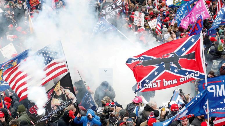 Advance: Америка встала на путь Веймарской республики