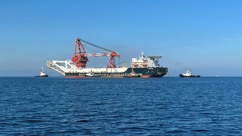 Bloomberg: США включили российское судно в список потенциальных жертв санкций против «Северного потока — 2»