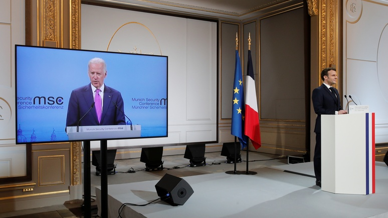 Le Monde: Байден и Макрон разошлись во взглядах на диалог с Россией