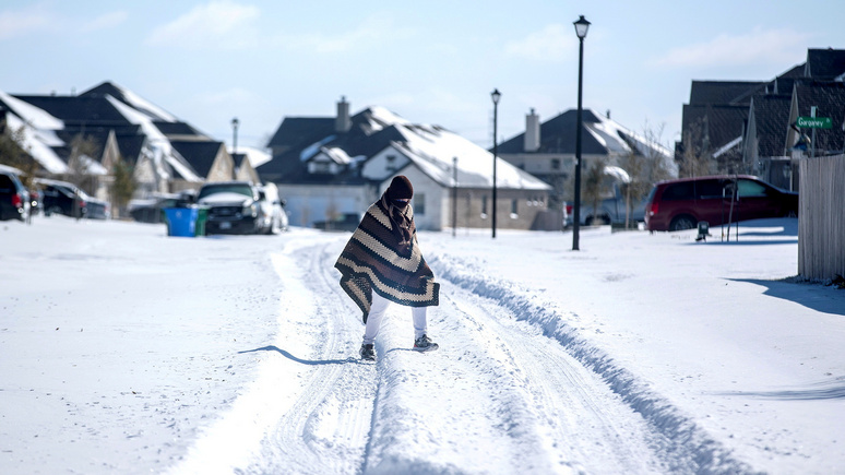 NBC: Байден объявил в Техасе стихийное бедствие после сильнейшего снегопада