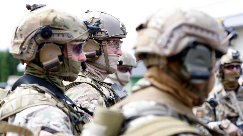 Der Spiegel: бойцы немецкого спецназа едва не спровоцировали дипломатический скандал между ФРГ и США