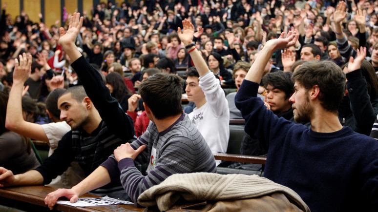 Le Figaro: борцы с угнетением насаждают во французских университетах цензуру и нетерпимость