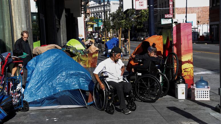 Le Monde: «тихая» эпидемия — в Сан-Франциско наркотики унесли больше жизней, чем COVID-19
