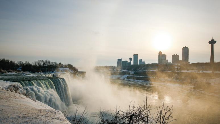 Independent: морозы превратили Ниагару в «зимнюю страну чудес»
