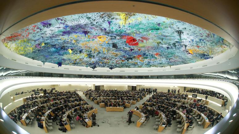Le Temps: Россия и США заочно схлестнулись на сессии СПЧ ООН
