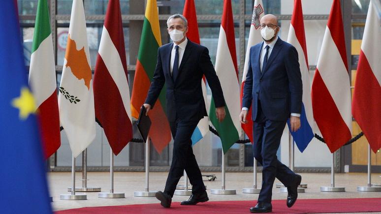 FAZ: стратегической автономии ЕС мешают разногласия Берлина и Парижа по поводу США