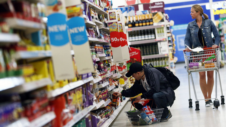 Independent: супермаркеты Великобритании ежегодно выбрасывают еды на 190 млн блюд