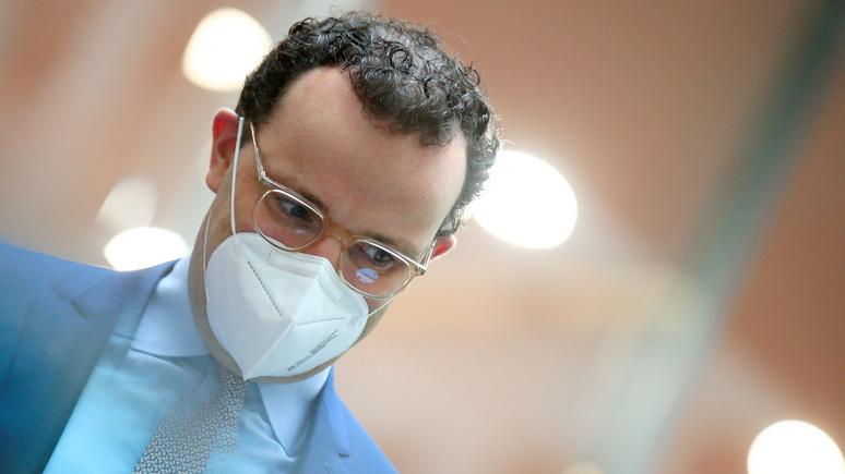 Spiegel: министр здравоохранения ФРГ игнорирует собственные призывы к борьбе с коронавирусом